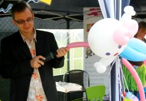 magenta group_animacje w  plenerze_animator na pikniku_modelowanie balonów