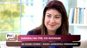 """Magenta Group w mediach. Oliwia Mielnik, właścicielka agencji evenowej z Krakowa, gościła w programie """"Pytanie na śniadanie""""."""